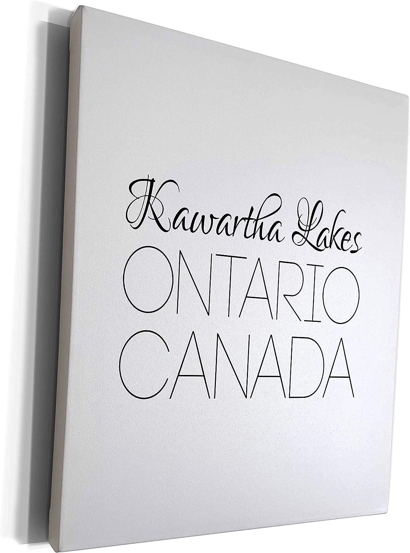 3dRose Alexis Design Award Ranking TOP15 - Canadian Cities Lakes Kawartha Ontario