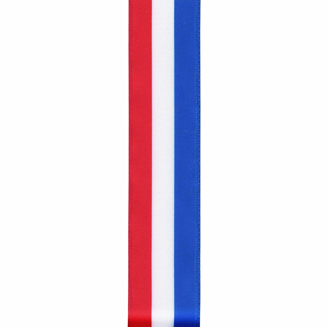 Offray Wired Edge Uncle Sam Craft Ribbon, 1 1/2-Inch x 9-Feet, Multi
