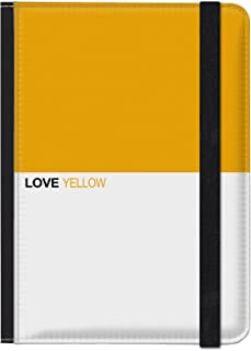 caseable designs ラブ イエロー 【Kindle(第7世代) Kindle Paperwhite(第5世代、第6世代、第7世代、マンガモデル)専用】