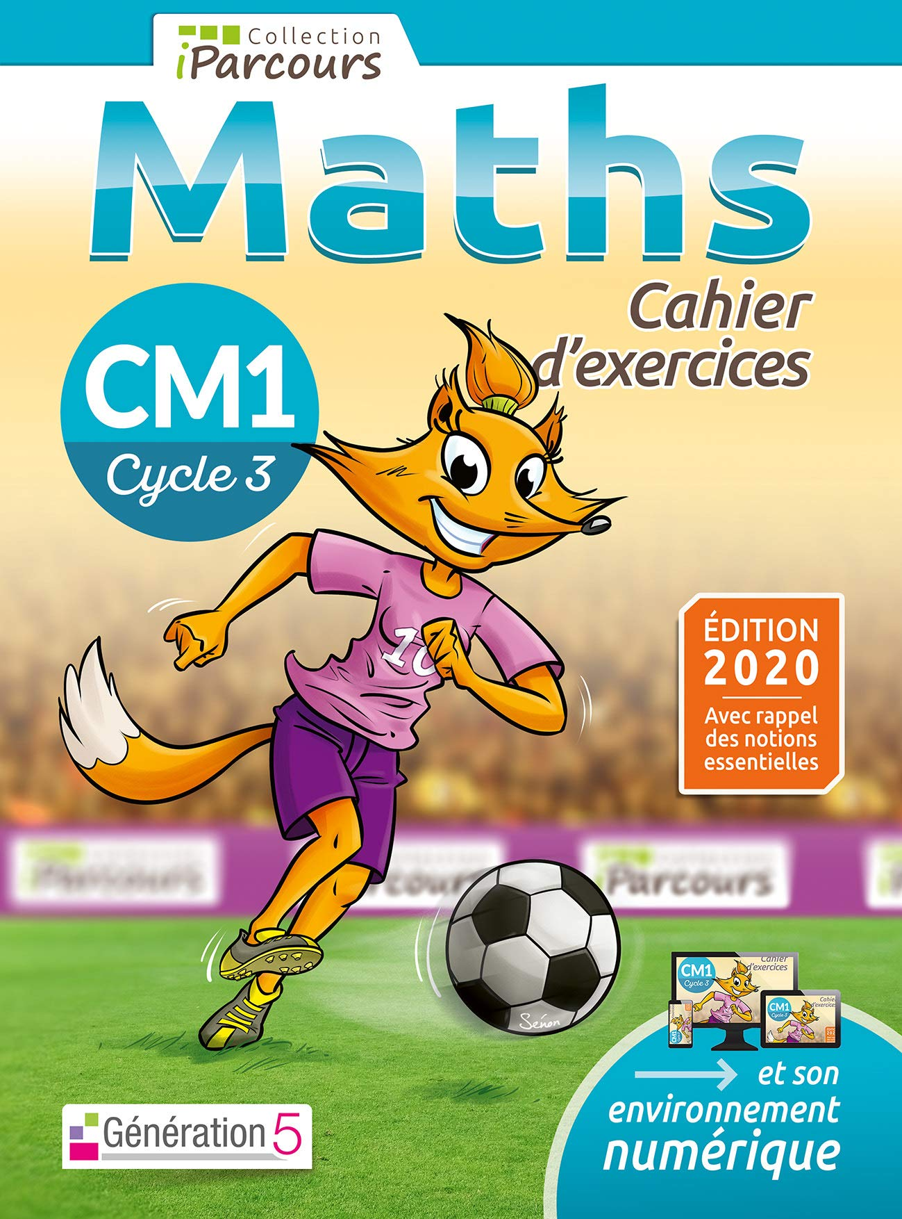 Download Cahier Dexercices IParcours Maths CM1  Dition 2020 