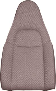 The Seat Shop Work Van Driver or Passenger Top Replacement Seat Cover - Medium Neutral (Tan) Cloth (Compatible with 2010-2014 Chevrolet Express and GMC Savana)