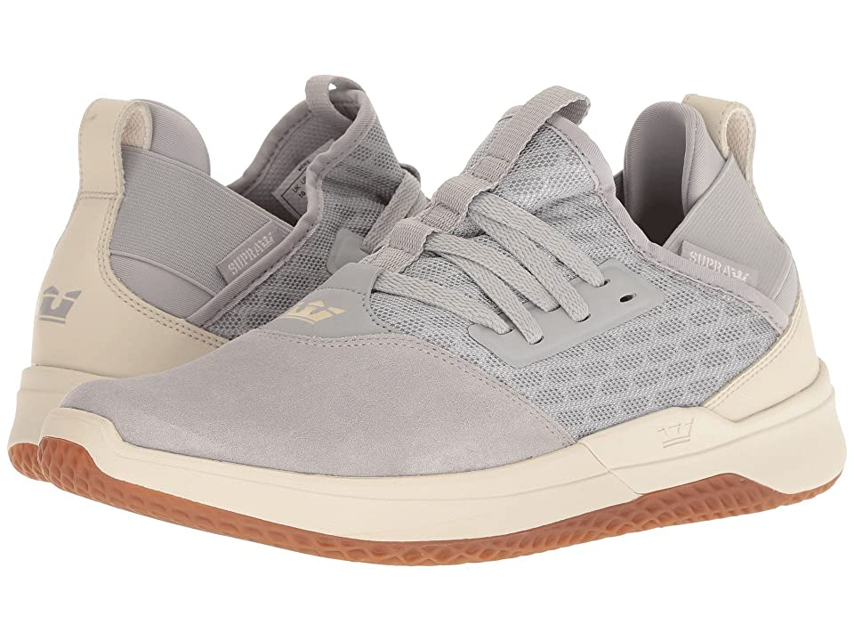 Supra Titanium (Light Grey/Bone/Gum) Men