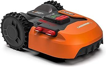 Worx Landroid S WR130E Robotmaaier, accugrasmaaier voor kleine tuinen tot 300 vierkante meter, zelfrijdende grasmaaier voo...