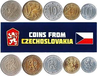 هواية الملوك عملات مختلفة - العملات الأجنبية التشيكوسلوفاكية القديمة القابلة للتحصيل لجمع الكتاب - مجموعات فريدة من المال ...