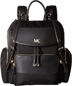 MICHAEL Michael Kors - Mott Large Flap Diaper Bag Backpack