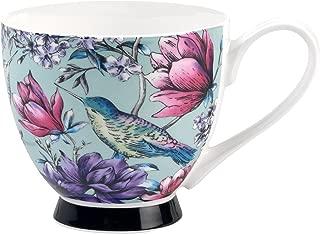 Portobello Sandringham Leala Bone China Mugs Tea Cups, Set of 2