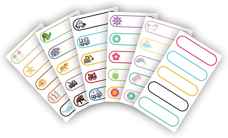 Baby Bottle Labels Write On Self Laminating Microwave And Diswasher Safe Great For Daycares Made In USA By Kenco 1 Pack