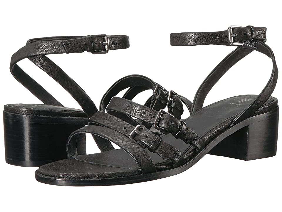 Frye Cindy Buckle Sandal (Black) Women