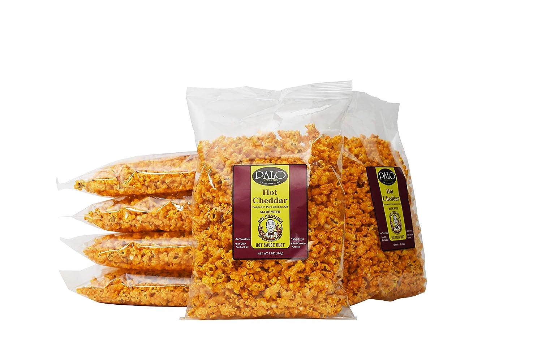 Palo Popcorn Hot Charlie's Nippon regular agency Long-awaited Cheddar 7 oz. of Pack 6 bag