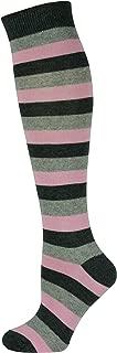 Unisex Knee High Stripe Socks