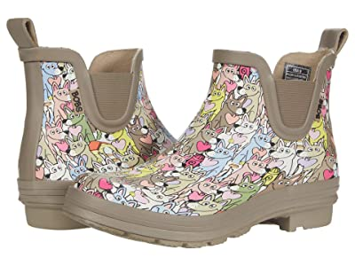 BOBS from SKECHERS Rain Check Puppy Poodles (Taupe Multi) Women