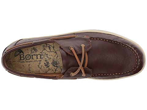 Leather Brown Born Ocean Dark Full Grain xBUxOZqY