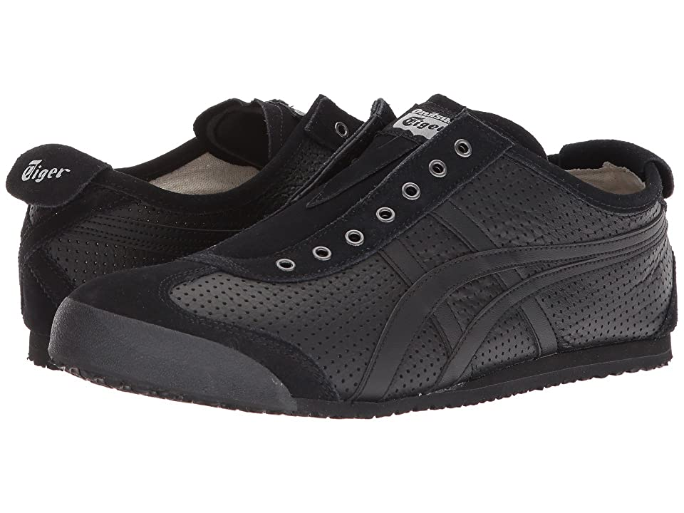 Onitsuka Tiger by Asics Mexico 66(r) Slip-On (Black/Black) Athletic Shoes