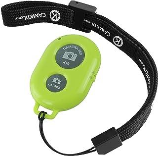 CamKix ワイヤレス Bluetooth スマートフォン用カメラシャッターリモートコントロール - 素晴らしい写真と自撮りの作成 グリーン D0027-SRC-GRE
