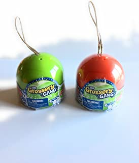 Grossery Gang The Exclusive Christmas Holiday Bauble 2017 Bundle of 2
