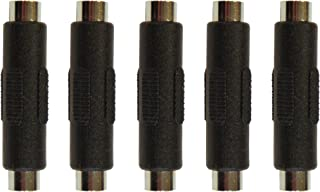 5 Pack of 2.1mm X 5.5mm Dc Power Cable Female to Female Couplers
