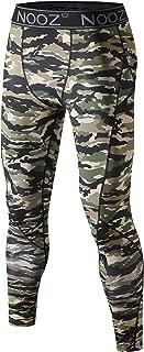 Nooz Men's Quick Dry Powerflex Compression Baselayer Pants, Legging Tights for Men