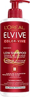 LOreal Paris Elvive Low Shampoo Champú para cabello teñido - 400 ml