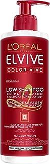 L'Oreal Paris Elvive Champú Low Shampoo Cabello Teñido - 400 ml