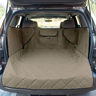 FrontPet Quilted Dog Cargo Cover for SUV, Universal Fit for Any Pet Animal. Durable Liner Covers and Protects Your Vehicle...