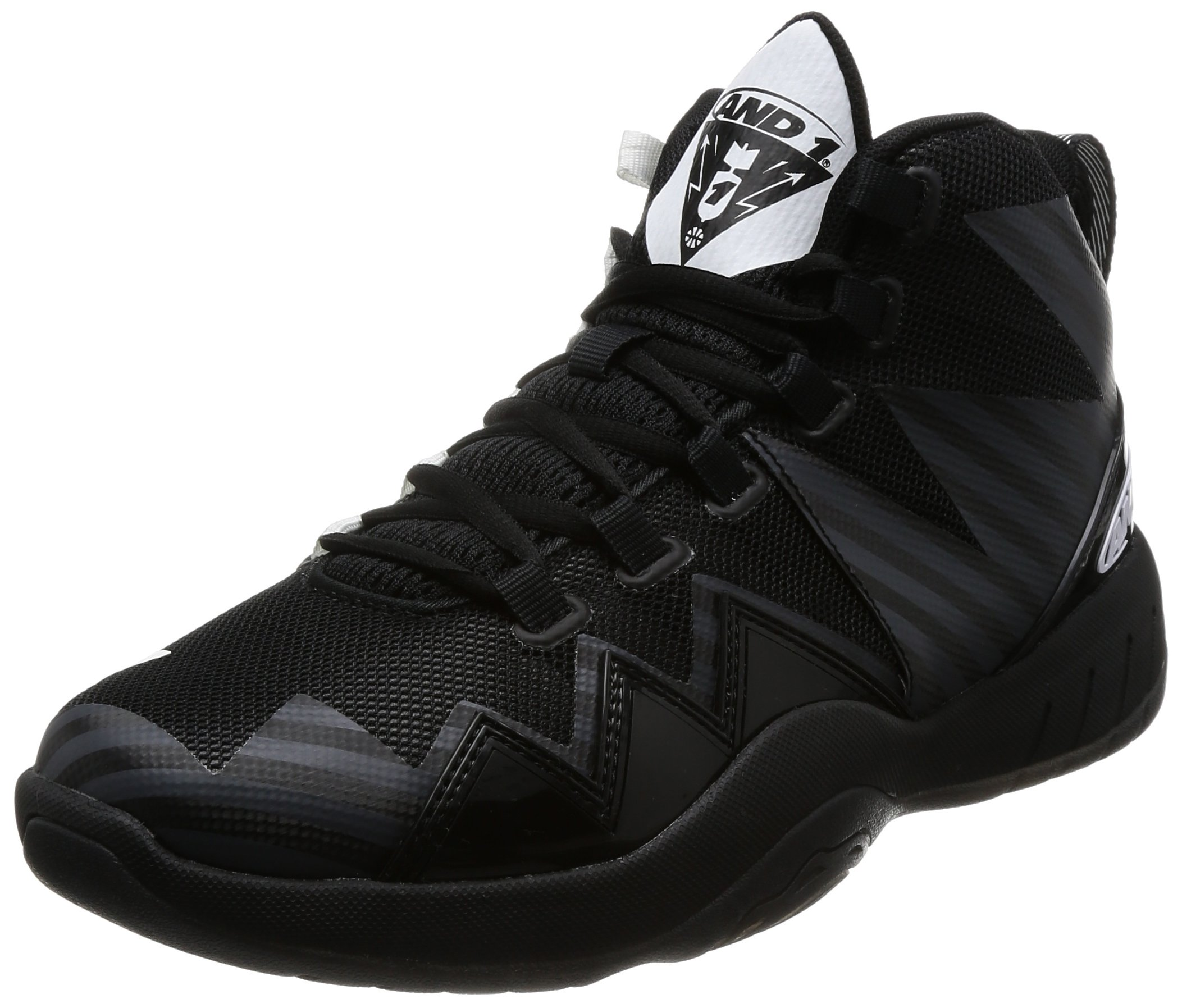 AND1 Mens Athletic Sneakers Black