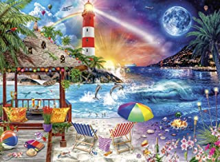 Buffalo Games - Night & Day Collection - Life's A Beach - 1000 Piece Jigsaw Puzzle