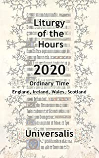 Liturgy of the Hours 2020 (UK & Ireland, Ordinary Time