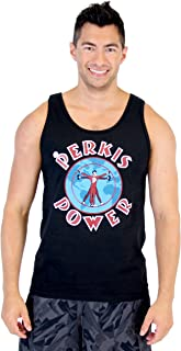 The Heavyweights Tony Perkis Power Camp Hope Black Adult Sleeveless Tank Top