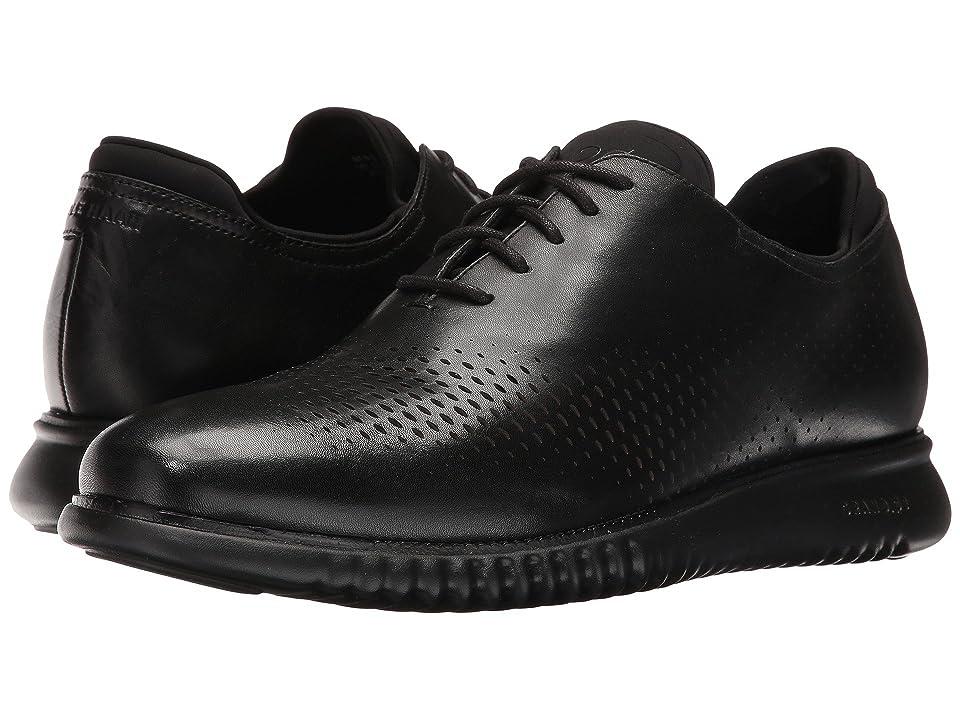 Cole Haan 2.Zerogrand Laser Wing Oxford (Black Leather/Black) Men
