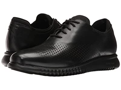 Cole Haan 2.Zerogrand Laser Wing Oxford (Black Leather/Black) Men