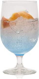 Libbey Montibello Iced Tea Goblet Beverage Glasses, Set of 6