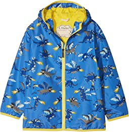 Fire Breathing Dragons Microfiber Rain Jacket (Toddler/Little Kids/Big Kids)