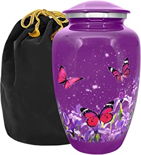Trupoint Memorials Mystic Butterfly Adult Urn for Human Ashes - A Warm and Loving Final Resting Place for Your Loved one L...