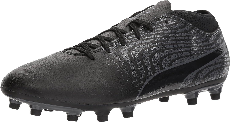 PUMA Men's One 18.4 FG Soccer-schuhe, schwarz schwarz-Asphalt, 9 M US B0721LV5KM  Ausgezeichneter Wert