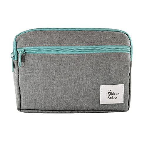 0e2b0cffc4 TOKKIE BABE Baby Carrier Extension Storage Pouch - Fit All Essentials for  Diapers