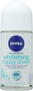 Nivea Deo Roll-On Whitening Happy Shave, 50 ml