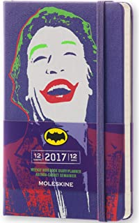 Moleskine DBA12WN2Y17 - Agenda semanal 18 meses, diseño ...