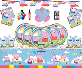 Amazon Co Uk Peppa Pig Party Supplies Toys Games