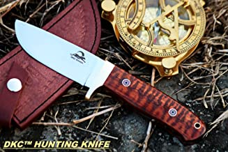 Sale DKC-602-440c Tiger Jack Compact Stainless Steel Bowie Hunting Knife 8.5