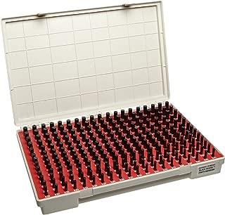 Vermont Gage Steel No-Go Pin Gage Set, Black Oxide, Tolerance Class ZZ, 1.31 - 4.99mm Gage Diameter (Set of 185)