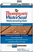 THOMPSONS WATERSEAL TH.041841-16 Transparent Waterproofing Stain, Acorn Brown