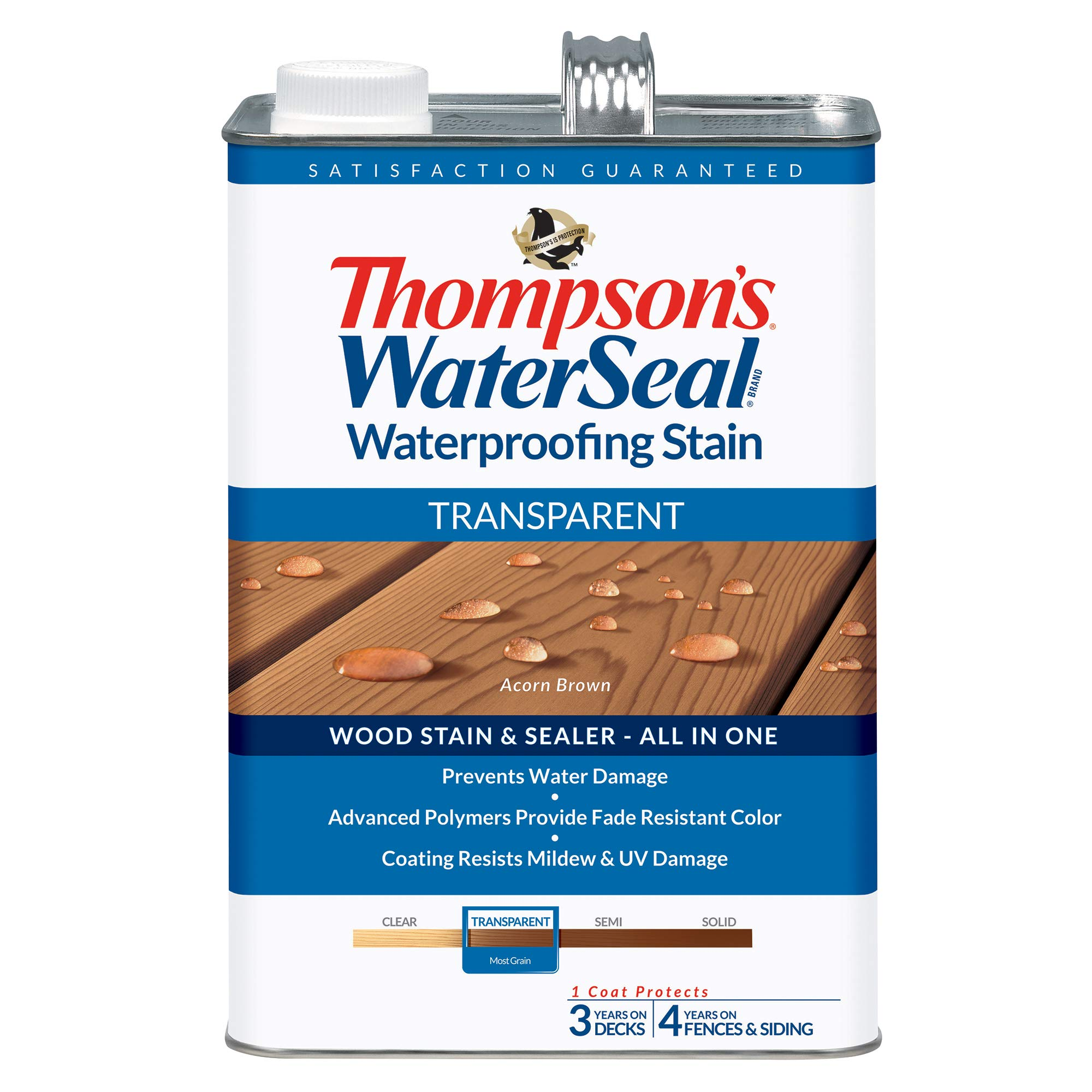 THOMPSONS WATERSEAL TH 041841 16 Transparent Waterproofing