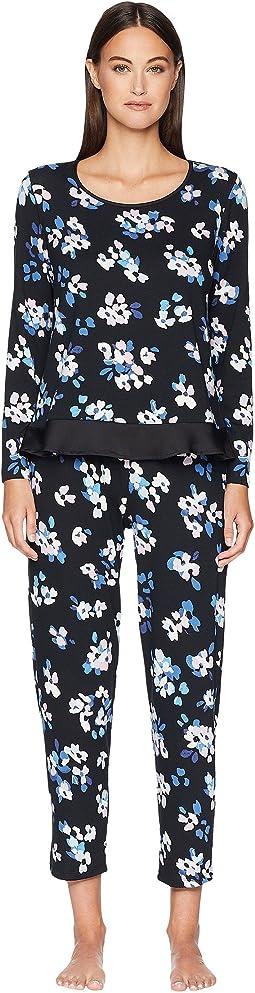 Floral Long Pajama Set