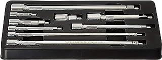 Steelman Conjunto de extensão magnética de 9 peças, converte soquetes de comprimento padrão em soquetes magnéticos, unidad...
