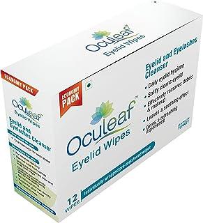 Oculeaf Eyelid Wipes 12'S Wipes