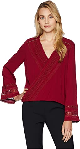 Long Sleeve with Lace Trim