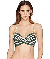 Livvy D-Cup Twist Cami Bra Bikini Top