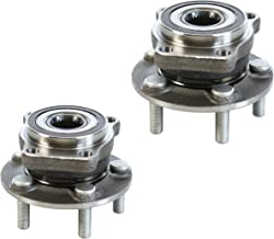 2 DTA Front Wheel Bearing Hub Assemblies Fits 2005-2014 Subaru Legacy Outback; 2009-2014 Forester; 2008-2014 Impreza (None STi)
