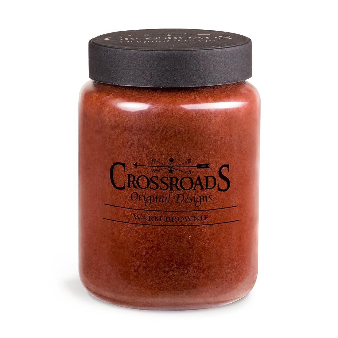 抑圧するキルスCrossroads Warm Brownie香りつき2-wick Candle、26オンス