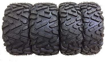 Set of 4 New WANDA ATV/UTV Tires 26x9-12 Front & 26x10-12 Rear /6PR P350-10166/10167 …